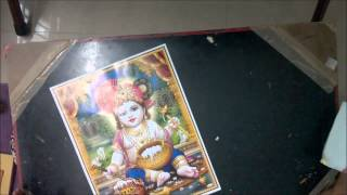 Step 1a - Tanjore Painting Raw Materials - Tanjore Painting (kerala mural style)