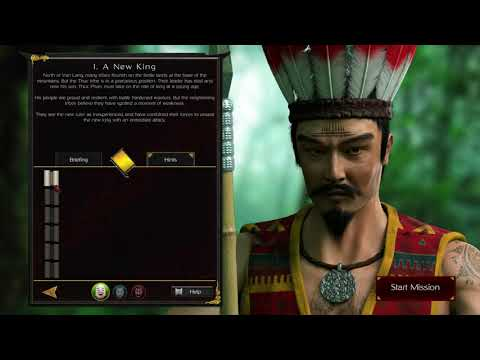 Stronghold Warlords (2021) Gameplay - campaign mission 1 |