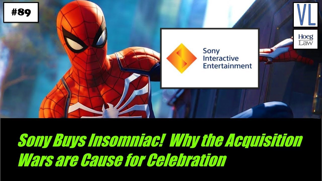 Sony Buys Insomniac! Why the Acquisition Wars are Cause for Celebration  (VL89)