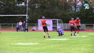 American Football - Albershausen Crusaders vs. München Rangers [28.09.2014 - Playoffs 2014]