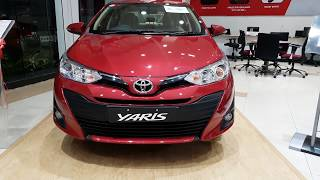 Visit to Toyota Showroom | Yaris,Altis,Innova and fortuner | Exterior and Interior 4K 60FPS