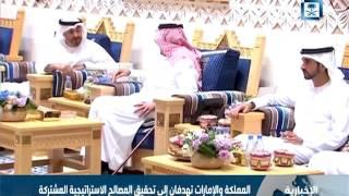 المملكة والإمارات تهدفان إلى تحقيق المصالح الاستراتيجية المشتركة