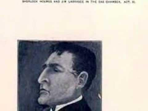 William Gillette as Sherlock Holmes  Part 1