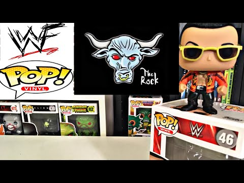 The Rock Funko Pop/The Real Chase Pop!!!!!!