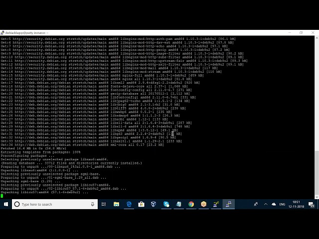 SSH INTO VM USING WINDOWS PUTTY IN GOOGLE CLOUD
