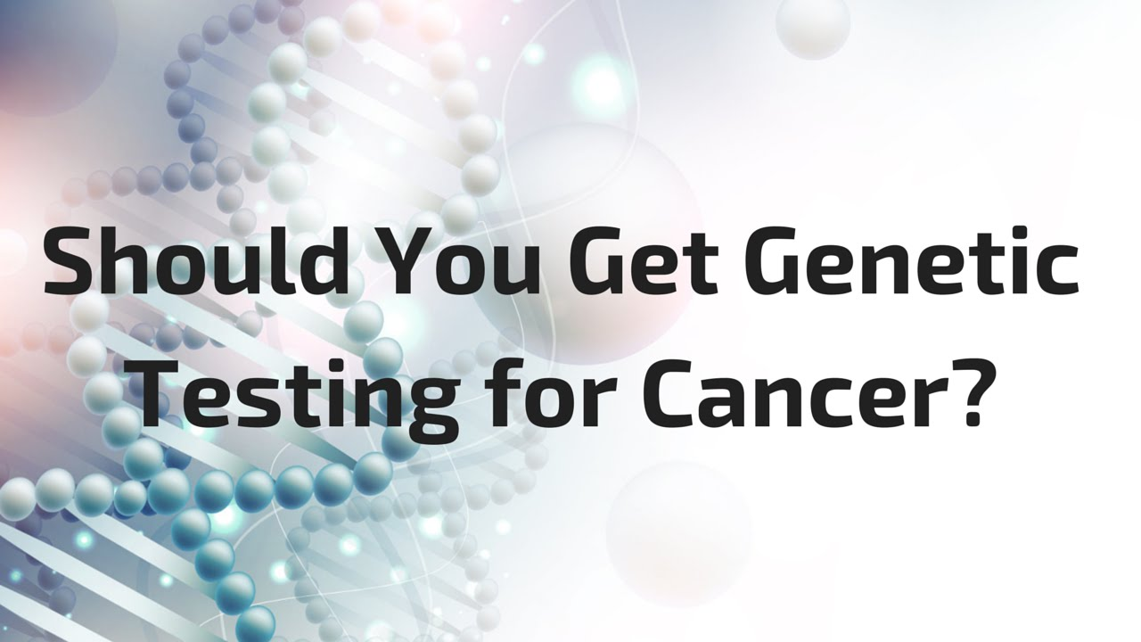 MY DNA CANCER TESTING