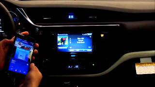 Using Bluetooth and the Scion Aha App by Matt Darling of Steet Scion of Yorkville