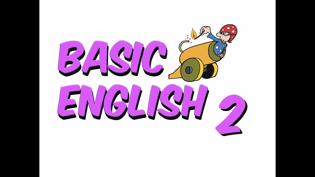 6dk'da BASIC ENGLISH 2 - YouTube