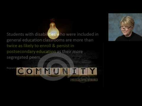Inclusion: What does it mean and who is it for?