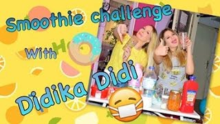 Smoothie Challenge with Didika Didi!