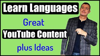 Useful language learning content on YouTube+ Practical ideas to use