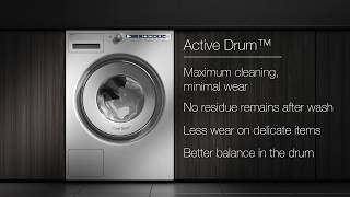 ASKO Washer - Active Drum, tough on dirt and gentle on fabrics