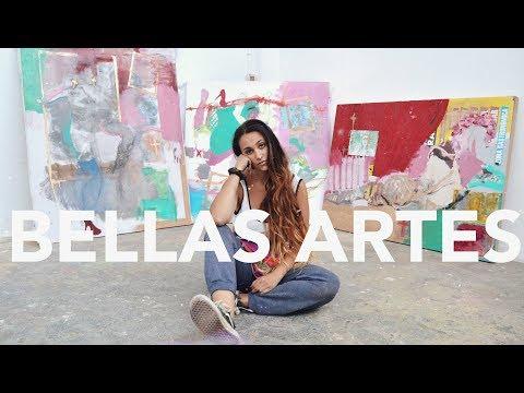 MI (MALA?) EXPERIENCIA EN BELLAS ARTES🎨 ¿ME ARREPIENTO?, TOUR, MIS OBRAS... | Carla Abejón
