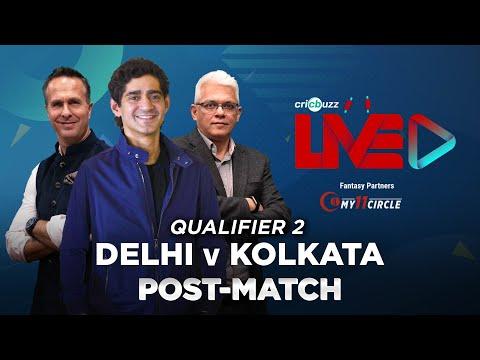 Cricbuzz Live: Qualifier 2, Delhi v Kolkata, Post-match show