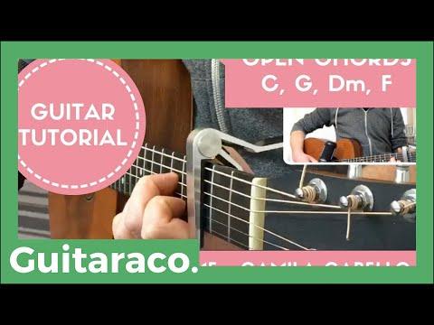 Never Be The Same - Camila Cabello // EASY Guitar Tutorial (Open Chords)