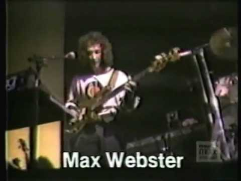 Max Webster Rare Interview 1980 from The New Music