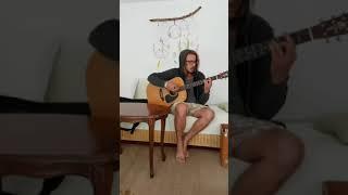 """""""Schrecklich Schöne Welt"""" (by Olli Schulz) - Guitar Cover by Momo"""
