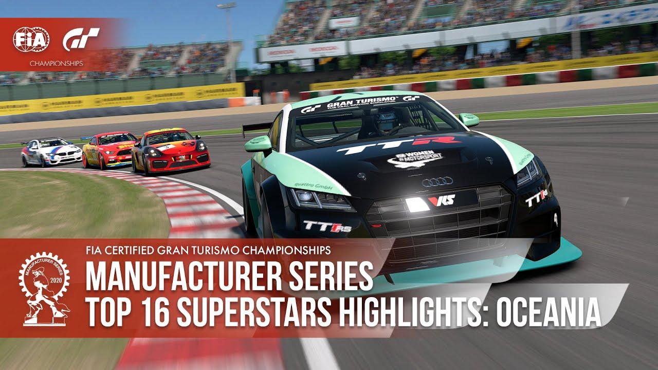 History Made! Gran Turismo Sport Top 16 Superstars Highlights