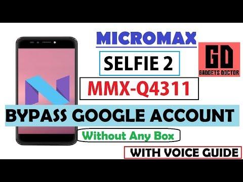 Micromax Selfie 2 Q4311 FRP