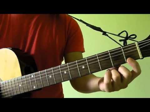 Hallelujah - Jeff Buckley (original by Leonard Cohen) - Easy Guitar Tutorial (No Capo)