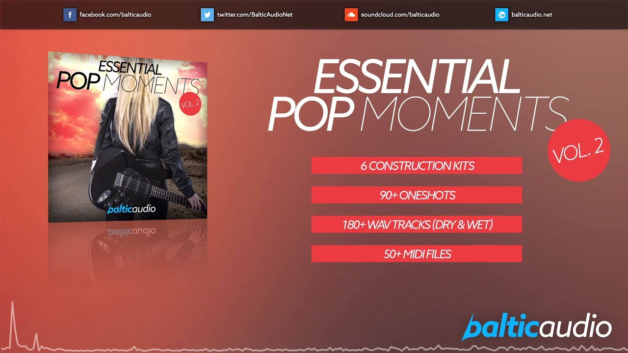 Essential Pop Moments Vol 2 (6 Construction Kits, over 3.4 GB of content, 1 BONUS Kit)
