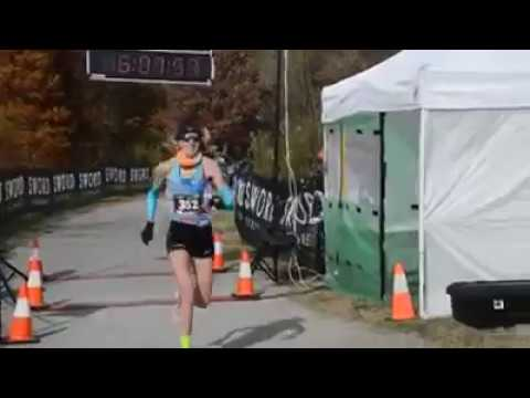 Camille Herron- Tunnel Hill 100 en route to the World Record