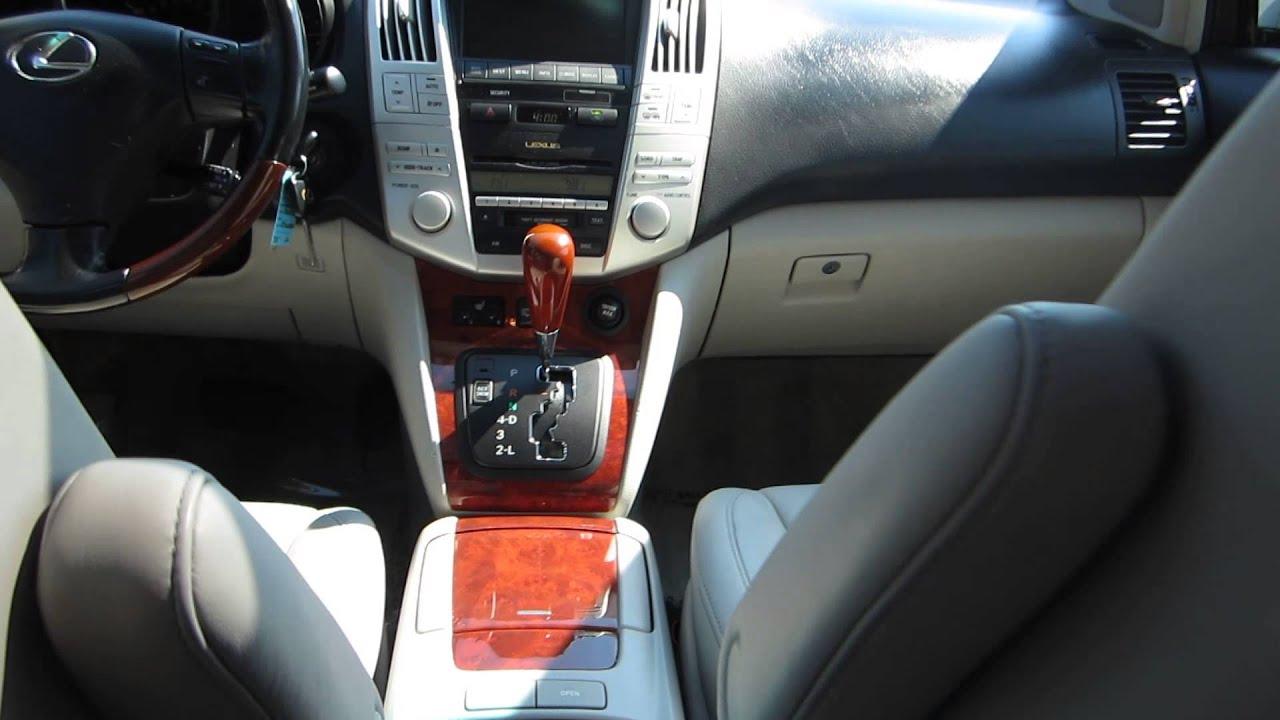 2006 Lexus RX330 Silver STOCK A Interior