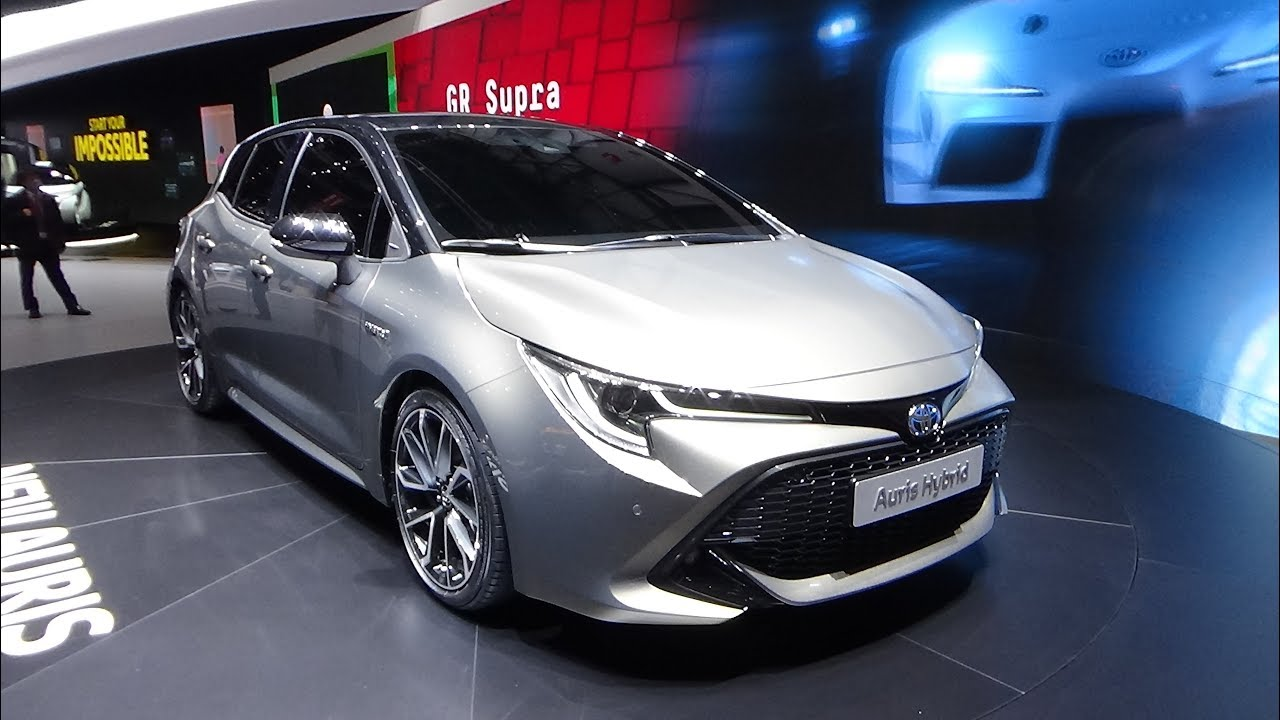 2019 toyota auris hybrid geneva motor show 2018 youtube. Black Bedroom Furniture Sets. Home Design Ideas