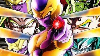 MY FAVORITE CATEGORY TEAM! 100% RAINBOW ANGEL GOLDEN FRIEZA! Dragon Ball Z Dokkan Battle thumbnail