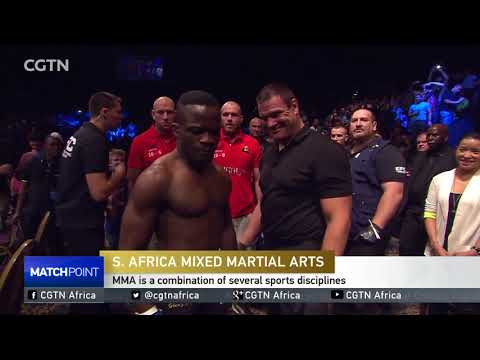 Extreme Fighting Championship popularising sport in S. Africa.