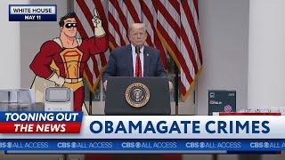 Superhero wants Obamagate crime specifics