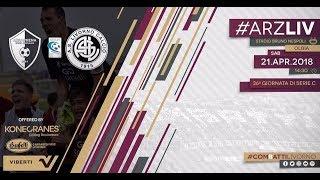 Arzachena - Livorno // 2-3 // Serie C 2017-18