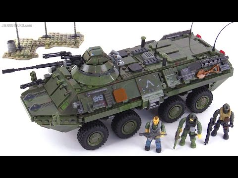 Mega Bloks BTR-80 Call of Duty Combat Vehicle Attack review!