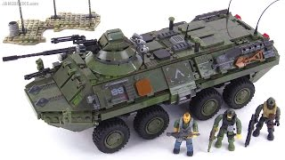 Mega Bloks Call of Duty Combat Vehicle Attack BTR-80 review!