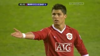 Cristiano Ronaldo Vs Sheffield United Home (17/04/2007)