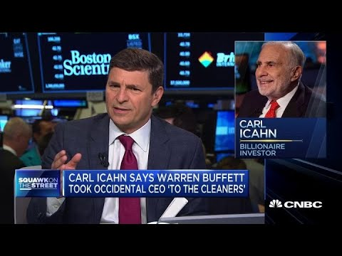 Carl Icahn: Warren Buffett took Occidental CEO 'to the cleaners'