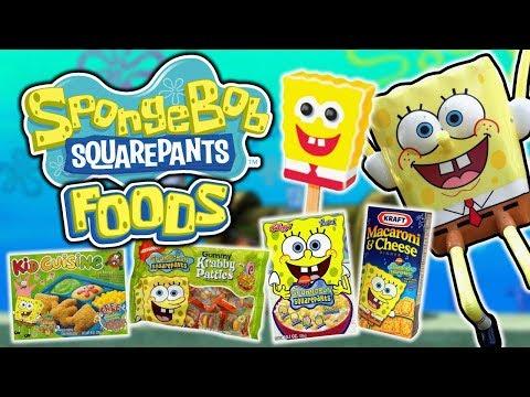 A Look at Nostalgic SpongeBob Foods & Candies