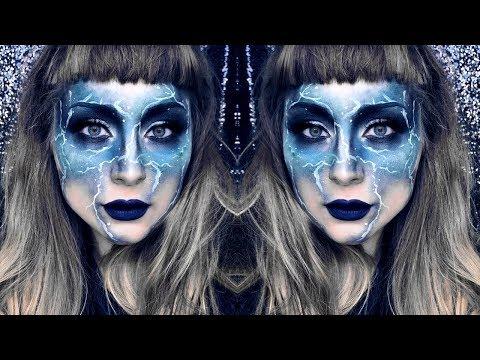 Lightning Halloween Makeup Tutorial thumbnail