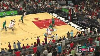 NBA 2k12 Full Gameplay Bulls vs Celtics Xbox 360 HD HQ