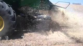 Video John Deere S680 with EMAR Chaff deck download MP3, 3GP, MP4, WEBM, AVI, FLV November 2017