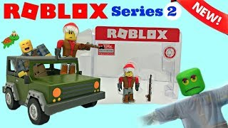 Roblox Apocalypse Rising 4x4 Jeep Toy & Code Item, Series 2 #robloxtoys #fishermanjoeisreal