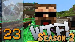 "Minecraft - Direwolf20 1.6.4 - FTB - - ""Sigil of Lunar tides meets Magic Bees!"" - ""WTF!"" S2E23"