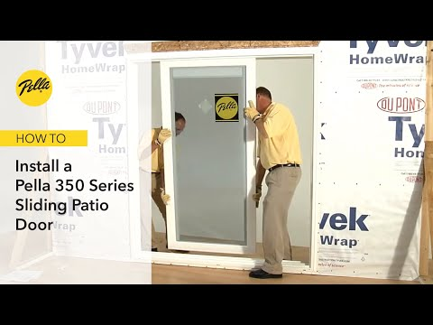 How to Install 350 Series Sliding Patio Door