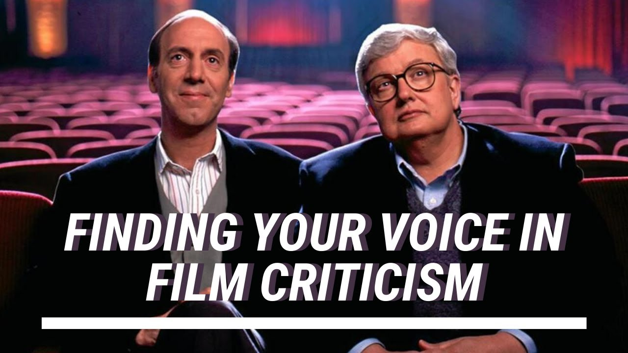 Advice To The Would Be Film Critic From Siskel And Ebert Youtube