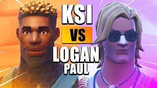 KSI vs LOGAN PAUL London Press Conference (Fortnite Edition)
