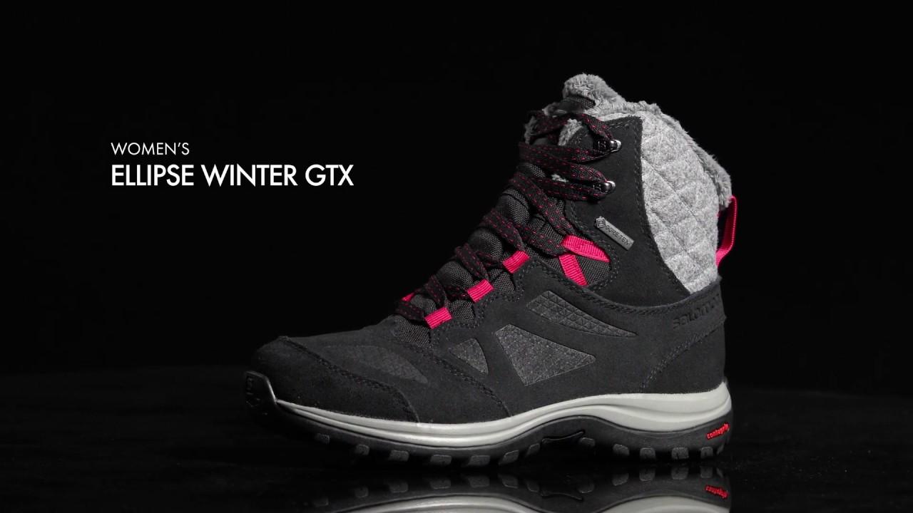 Ellipse Salomon GTX Women's Boot Winter VGMUpqSz