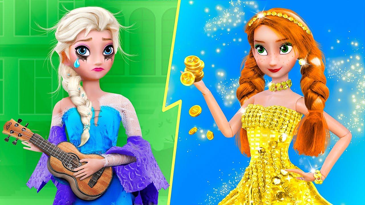 Богатая Анна vs бедная Эльза