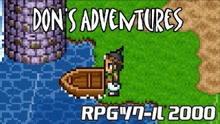 Don's Adventure - The First RPG Maker Game