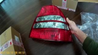 Распаковка посылки фирмы DEPO, новые фонари на Corolla 120