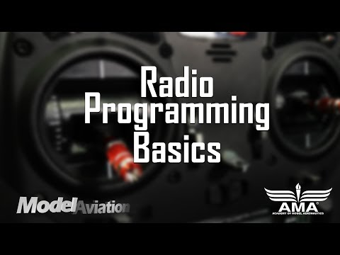 Radio Programming Basics - Model Aviation